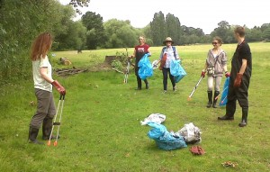 A very well attended volunteer effort to clean up in and around Danson Lake in June 2014 shows the potential for a group in the park focussed on wildlife and environmental matters.