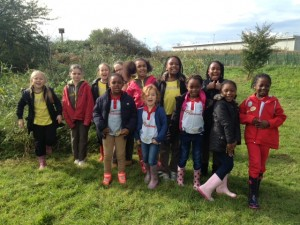 Brownies and Rainbows at Crossness Nature Reserve. (Photo: Karen Sutton)