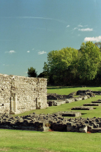 The ruins of Lesnes Abbey
