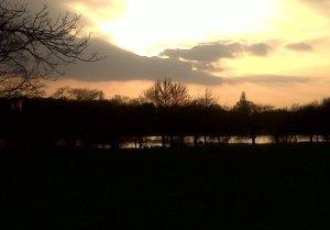 Danson lake at dusk (Photo: Chris Rose)