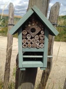 'Bug hotel' at Crossness (Photo: Karen Sutton)