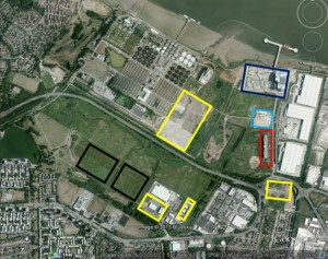 Erith Marsh map_lost to development webver